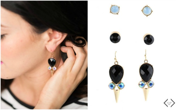 4 Pair of Earrings for under $12.00