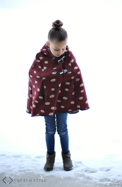 Girls Hooded Ponchos & Kids Graphic Hoodies