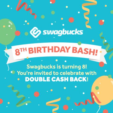 Swagbucks 8th Birthday Bash