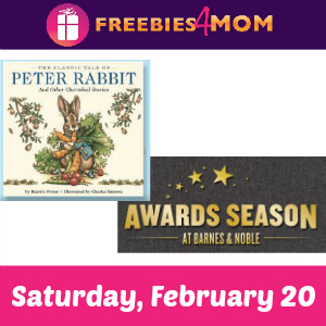 Stories, Prizes & More at Barnes & Noble Feb. 20