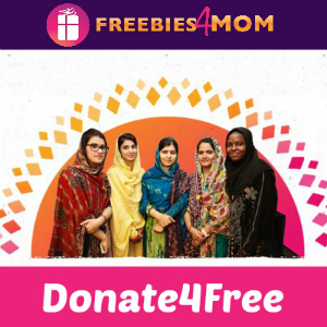 Donate4Free: Donate $1 to Malala Fund