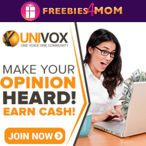 Free $5 Sign-Up Bonus for Univox ~ Get Paid to Take Surveys
