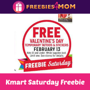 Free Valentine's Temporary Tattoos & Stickers