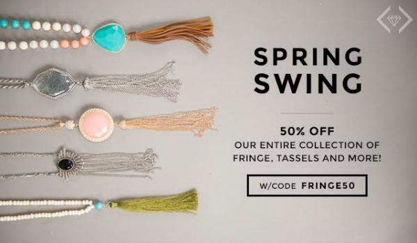 50% Off Fringe, Tassels & More