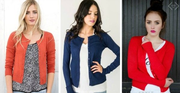 Regular & Plus Size Cardigans $15.95