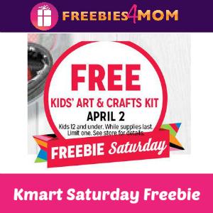 Free Kids' Art & Crafts Kit at Kmart 4/2