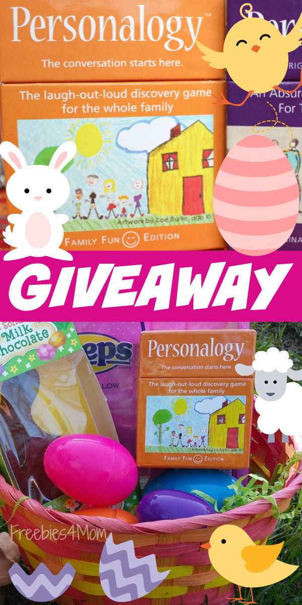Personalogy Giveaway