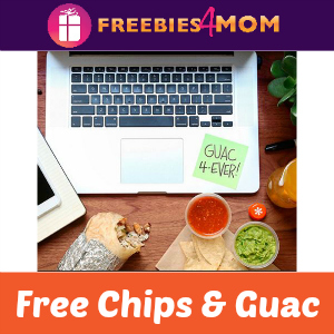 Free Chips & Guac at Chipotle