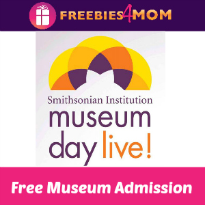 2 Free Museum Admission Tickets March 12