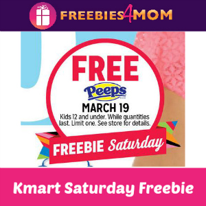 Free Peeps at Kmart March 19