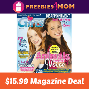 Magazine Deal: Discovery Girls $15.99
