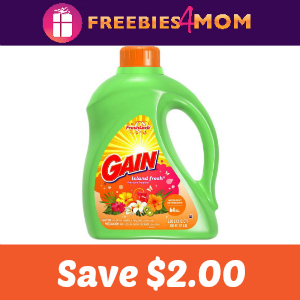 Coupon: Save $2.00 off one Gain Detergent