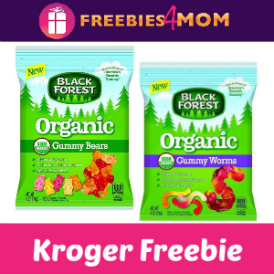 Free Organic Gummy Bears or Worms at Kroger