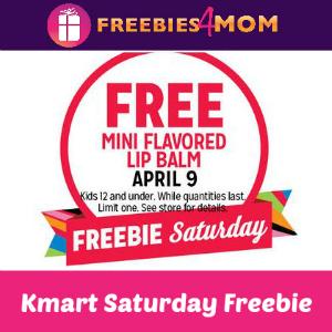 Free Mini Flavored Lip Balm at Kmart 4/9