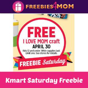 Free I Love Mom Craft at Kmart April 30
