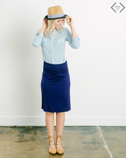 Knit Midi Skirts $14.95