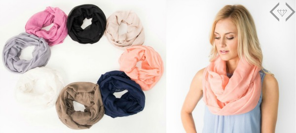 Light Weight Scarves Up to 75% Off
