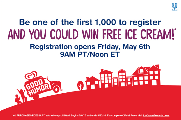 Do you scream for FREE Ice Cream? Come back Friday at 11am CT