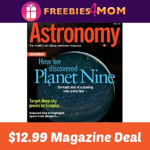 Astronomy Magazine $12.99