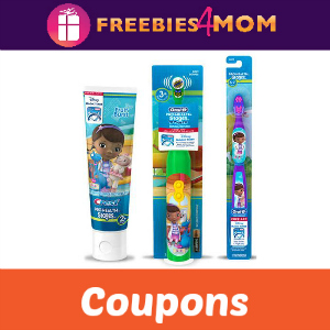 Coupon: Save on Kids Crest and Oral-B