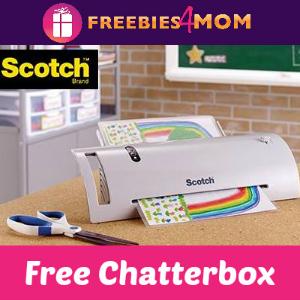 Free Chatterbox: Scotch Thermal Laminator