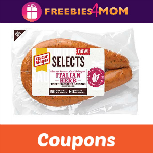 Save on Oscar Mayer Selects Dinner Sausage