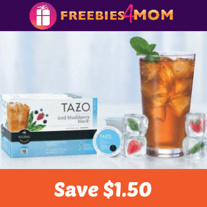 Coupon: $1.50 off Tazo Iced Tea K-Cups