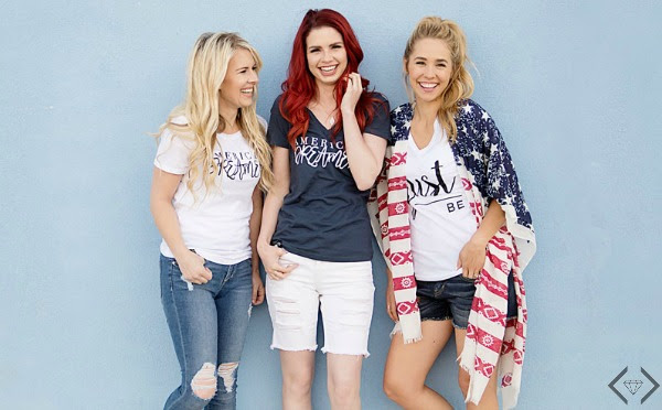 Free American Dreamer Shirt with any $30 purchase