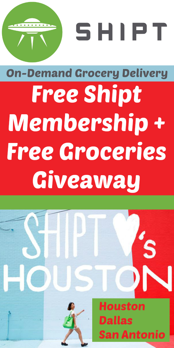 Free Shipt Membership + Free Groceries Giveaway *Texas Only*