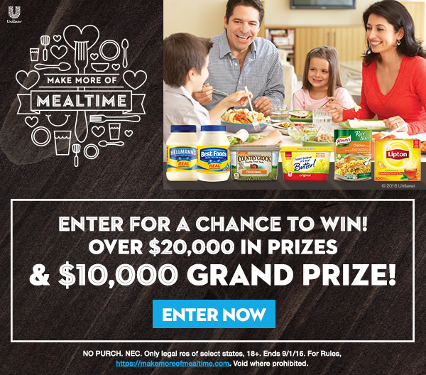 Make More of Mealtime Sweepstakes