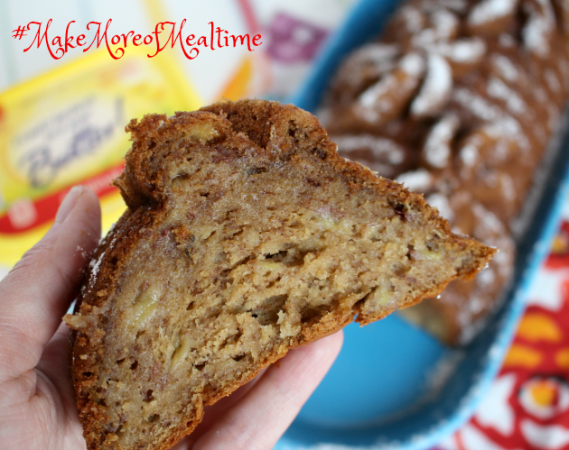 Best Ever Banana Bread Recipe ~ Make More of Mealtime