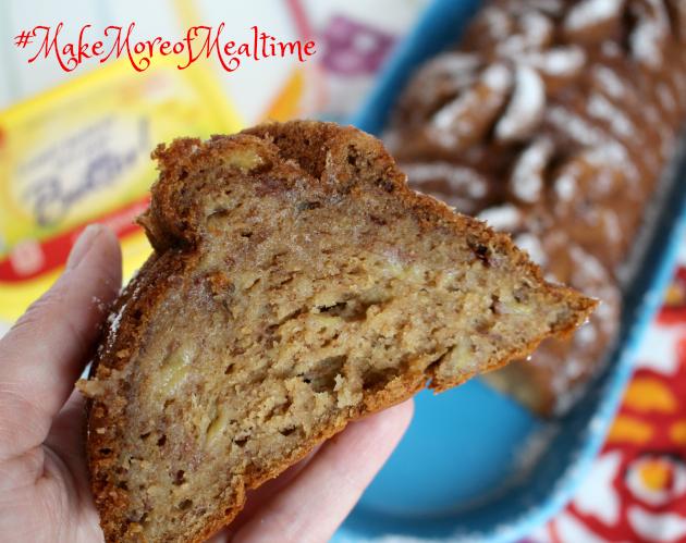 Best Ever Banana Bread Recipe ~ Make More of Mealtime