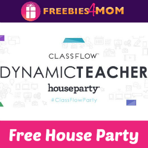 Free House Party: ClassFlow Dynamic Teacher