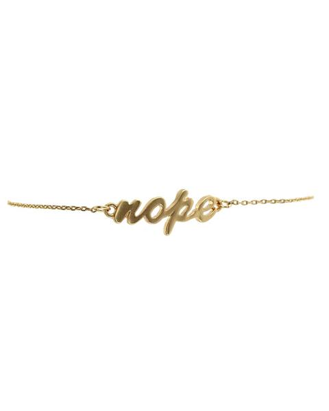 $9.99 Nope Bracelet from Cents of Style