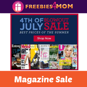4th of July Magazine Blowout