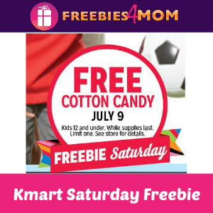 Free Cotton Candy at Kmart July 9