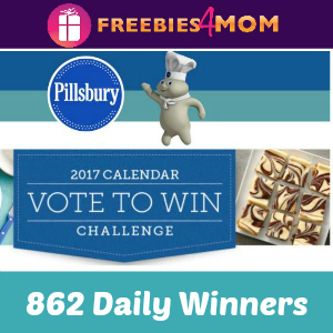 Sweeps Pillsbury 2017 Calendar