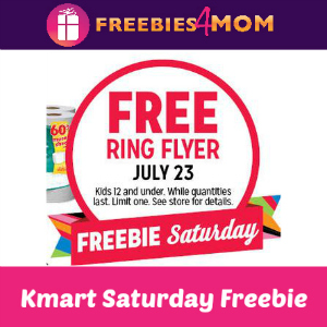 Free Ring Flyer at Kmart July 23