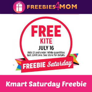 Free Kite at Kmart July 16