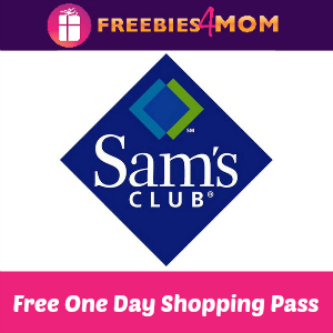 Free One Day Sam's Club Pass & Cookie