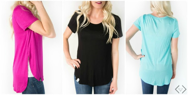 Side Splie Tunic for $12.98 with Free Shipping at Cents of Style