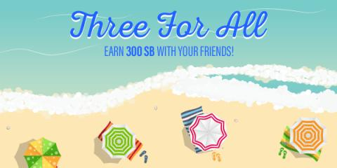 Earn $3 when you sign-up for Swagbucks