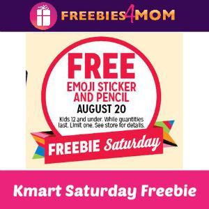 Free Emoji Sticker & Pencil at Kmart