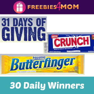 Sweeps Nestle 31 Days of Giving