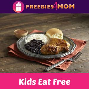 Kids Eat Free at Pollo Tropical Aug. 5-7