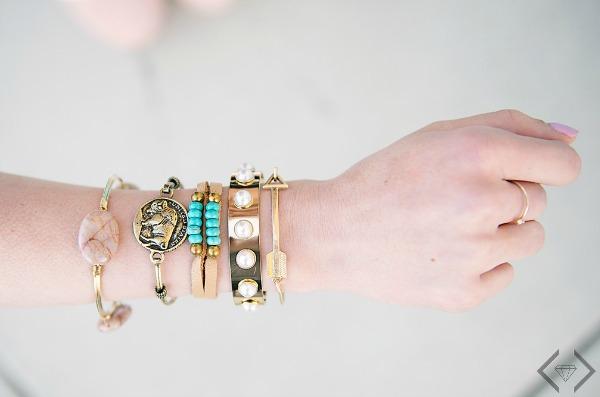 50% Off Stacking Bracelets (Starting at $4.98)