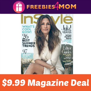 Magazine Deal: InStyle $9.99