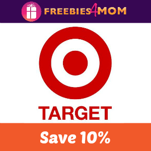 10% Off Target Storewide and Online Aug. 28