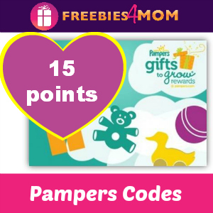 15 Pampers Points
