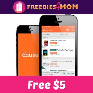 Free $5 from Chuze